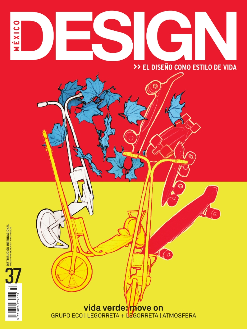 Artwork for Mexico Design magazine.